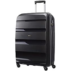 American Tourister - Bon Air - Spinner 75 cm, 91 L, Noir (Black)