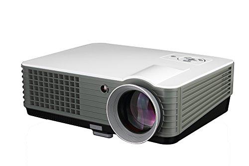 Proiettore Home Cinema Proiettori Led Proiettore Full HD 4000 Lumens 1080p proiettore di uso...