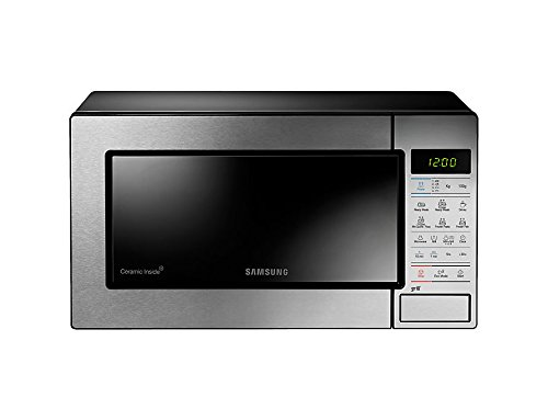Samsung GE83M/XET - Forno A Microonde con Grill, 1100 W + 800W, 23 Litri, 50 Decibel, Argento