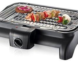 Severin PG 1511 Barbecue-Grill 2300W, Colore: Nero
