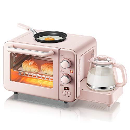LKW Macchina da caffè elettrica Multifunzione 3 in 1mini, 8L Macchina per la Colazione tostapane...