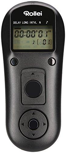 Rollei Remote Control Release wireless Canon - Mando a distancia inalámbrico con 2.4 GHz para Canon, Alcance hasta 50 m, compatible con Canon EOS 1DX, 1DX Mark II y mucho más - Negro