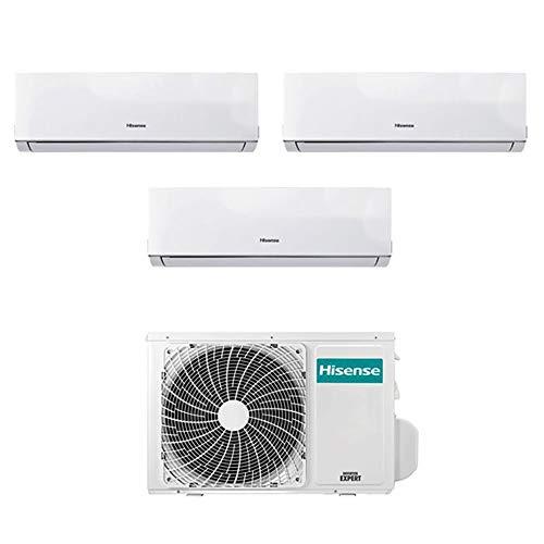 Condizionatore Climatizzatore Trial Split Inverter Hisense Comfort 9000+9000+12000 9+9+12 Btu A++...