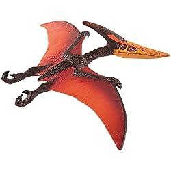 Schleich Pteranodon, Color marrón, Naranja, Rojo 15008