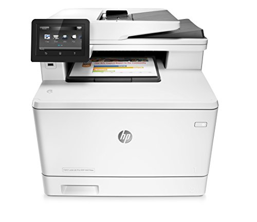 HP Stampanti Office Color LaserJet Pro MFP M477FDW Stampante Laser Multifunzione, Bianco