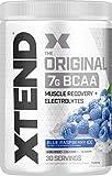 Scivation, Xtend BCAAs (Blue Raspberry, 30 Servings)