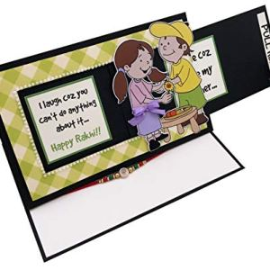 Crack of Dawn Crafts Rakhi Sliding Greeting Card with Rakhi Included 15  Crack of Dawn Crafts Rakhi Sliding Greeting Card with Rakhi Included 41bI26wEVrL