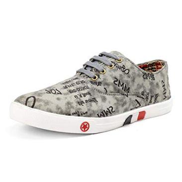 Red Rose Men's Grey Sneaker Shoes 2