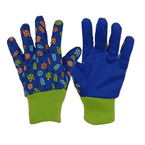 3 paia di guanti morbidi e confortevoli per bambini, guanti da giardinaggio, cortile, giardinaggio e...