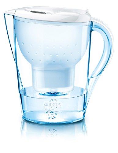 Brita Marella XL 3.5L water filter jug with cartridges bundle (white) (1 month of Brita Maxtra) (1 cartridge)