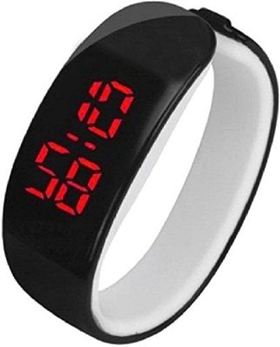 Rise N Shine Digital Led Black Dial Unisex Watch - RNSWT036