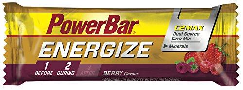 Barrita Energética Energize PowerBar 12 x 55g Frutos Silvestres