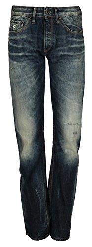 Denham Damen Jeans Blau DL04014W10YS, Size:W32/L34