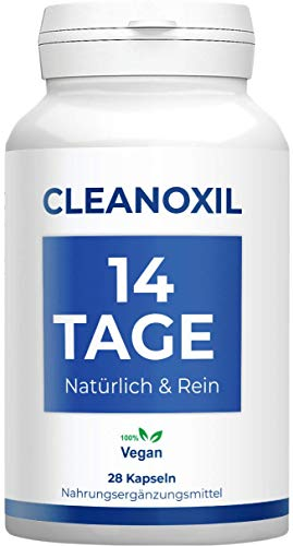 Cleanoxil   14 Tage Kur   effektiv   Natürlich & rein   Vegan   28 Kapseln