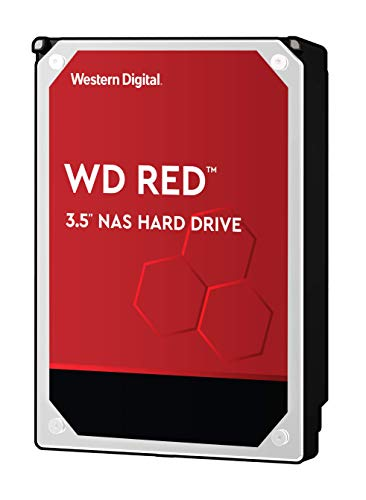 Western Digital WD Red HDD Interno, 1000 GB, SATA III, 6000 Mbit/s, 5400 rpm, 64 MB, Display da 3.50...