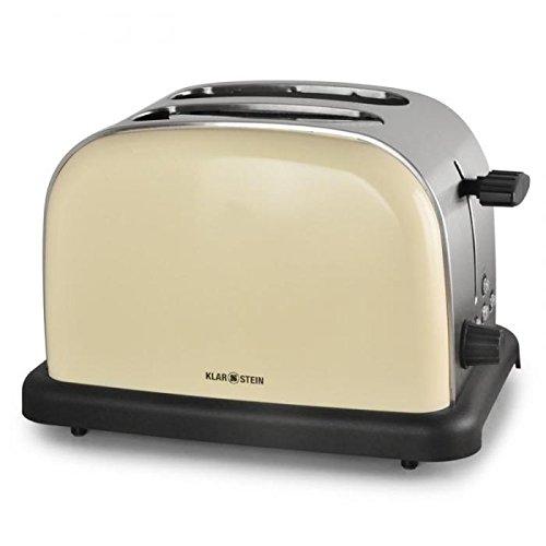 Klarstein BT318C tostapane (con funzione sbrinamento, scongelamento, riscaldamento, tostatura bagel...