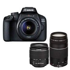 Canon Cámara Digital Reflex EOS 4000D, 18-55 mm DC