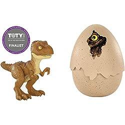 Jurassic World Dino recién nacido Tyrannosaurus Rex, dinosaurio de juguete (Mattel FMB93)