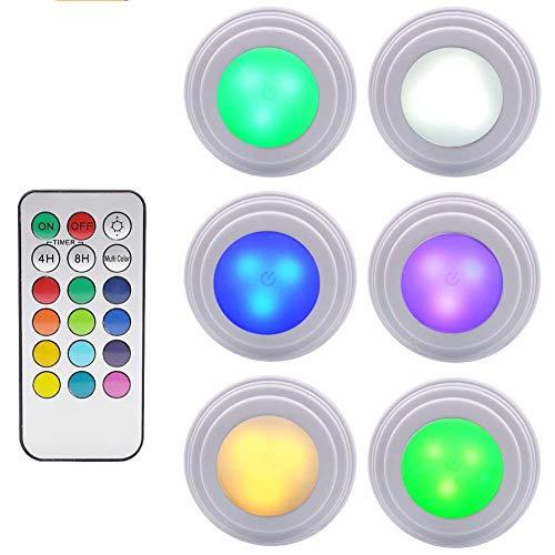 GreeSuit Luci Colorate a LED per Armadio Telecomando Wireless Luminosità Regolabile Luce LED per...