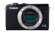 Canon EOS M100 - Cámara EVIL compacta de 24.2 MP (LCD, FHD, Bluetooth, Wifi/NFC, Dual Pixel AF, DIGIC 7) negro - solo cuerpo