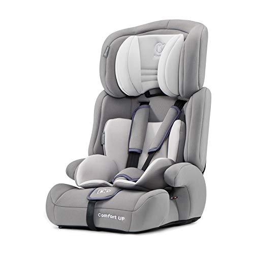 Kinderkraft Seggiolino Auto COMFORT UP per Bambini Gruppo I/II/III (9-36 kg) Regolazione Poggiatesta Comodo e Sicuro Certificato di Sicurezza ECE R44/04 Grigio