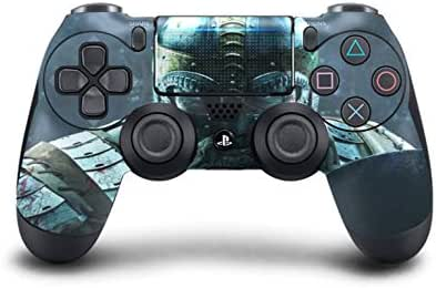 PS4-Vikings Skin für PS4 Dualshock 4 Controller, individueller Modded Chip