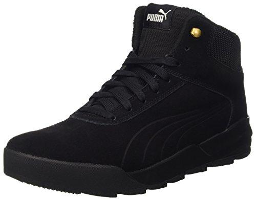 Puma Unisex-Erwachsene Desierto Sneaker Schneestiefel, Schwarz Black 02, 44 EU