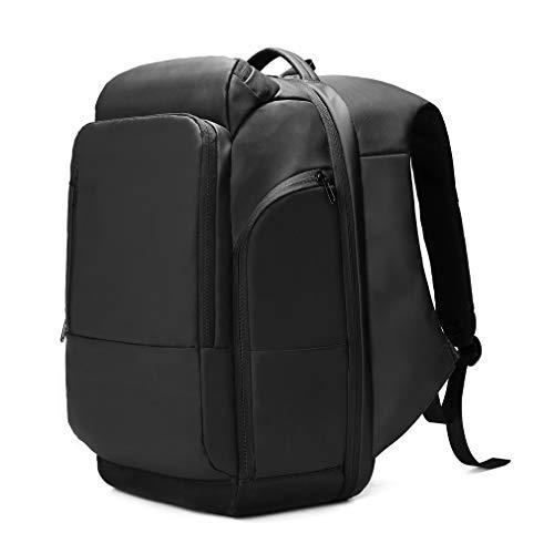 EURCOOL Zaino per portatile da uomo, impermeabile, con porta di ricarica USB, zaino da viaggio,...