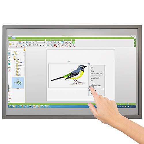"""Pizarra interactiva Fija Speechi, 83"""", Software para Pizarra interactiva Incluido, Multitoque hasta 10 Puntos táctiles, Posibilidad de añadir un Soporte para TBI."""