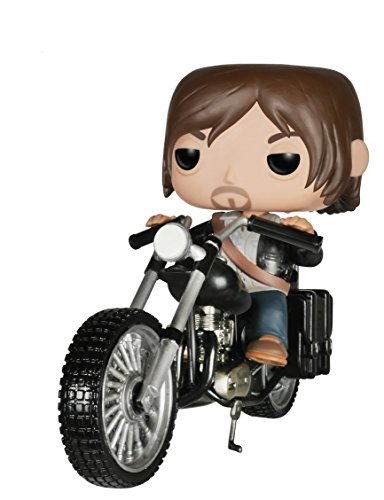 Funko - Estatuilla - Walking Dead - 12cm Pop Chopper de Daryl Dixon - 0849803047139