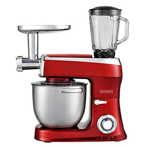 Robot da cucina 3 in 1 2100 Watt Max impastatrice frullatore 7,5 L rosso