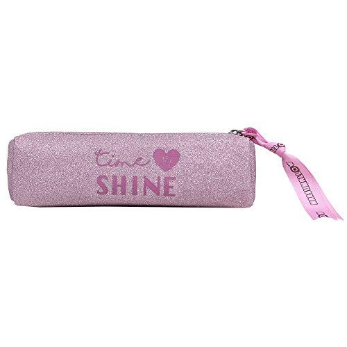 Marshmallow Glitter Astuccio, 22 cm, Rosa