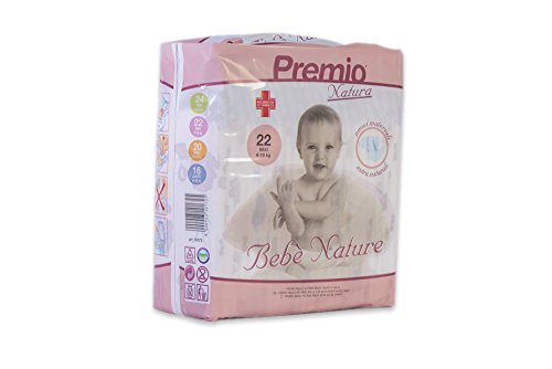 Pannolini Bebè Nature Maxi taglia 8/16 kg cartone 132 pannolini