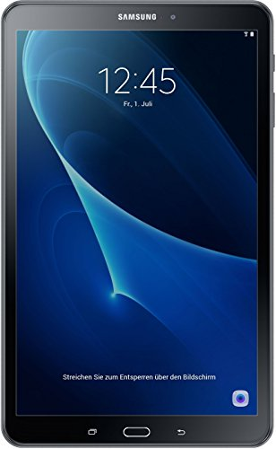 """Samsung Galaxy Tab A - Tablet (10.1"""" - 255.4 mm, 16GB eMMC, Android 6.0, 2016), color negro"""
