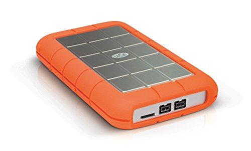 LaCie 301558 Rugged MINI Hard disk Esterno, Arancione/Grigio, 2 TB