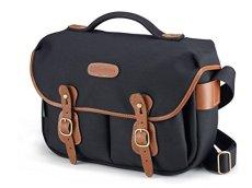 Billingham Hadley Pro - Bolsa de lona para cámara de fotos, color negro y marrón