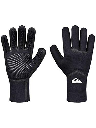 Quiksilver 3 Syncro Plus, Gloves Uomo, Black, M