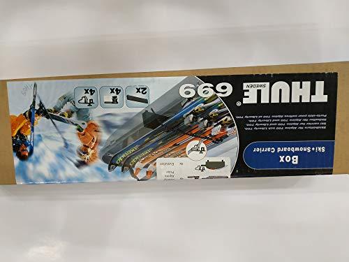 Thule TH699000 - Portasci, Taglia Unica