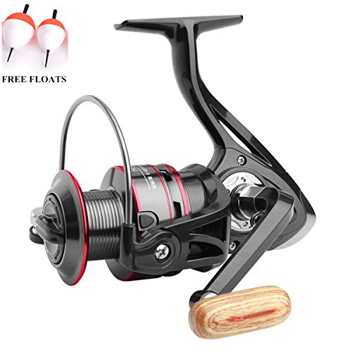 Ecoolbuy Boat Rock spinning mulinello 12BB 5.2: 1metal Carp Fishing Wheel spinning Reel 1000200030004000500060007000Series, 12BB-3000