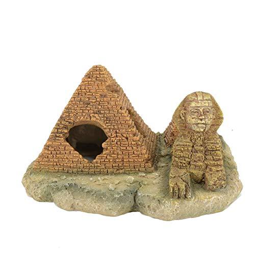 Pirámide egipcia para acuario