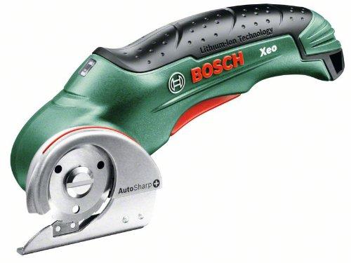 Bosch XEO - Cortadora universal a batería (3.6 V, cargador)