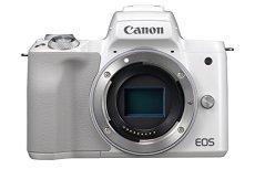Canon EOS M50 Cuerpo MILC 24,1 MP CMOS 6000 x 4000 Pixeles Blanco - Cámara Digital (24,1 MP, 6000 x 4000 Pixeles, CMOS, 4K Ultra HD, Pantalla táctil, Blanco)