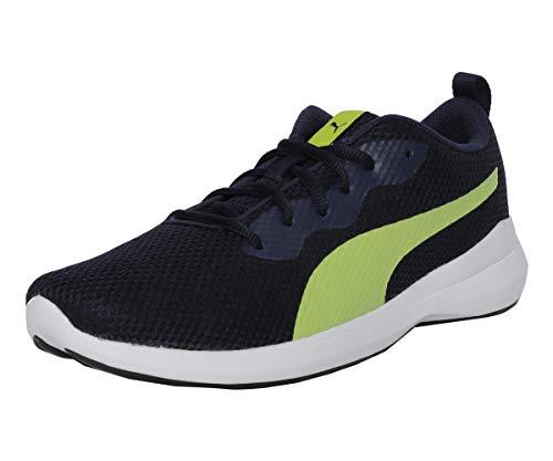 Puma Men's Willow IDP Peacoat-Limepunch Sneakers-9 UK/India (43 EU) (4060979704428)