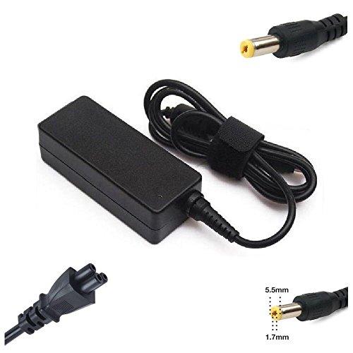 Euromega® Cargador Alimentación para Packard Bell EasyNote LE LJ lm LS LV NJ nm NS NX te TK TM TS TV TH TJ TX eMachines D520D640D730E510E630E730G430G620G720con la punta 5.5mm * 1.7MM)