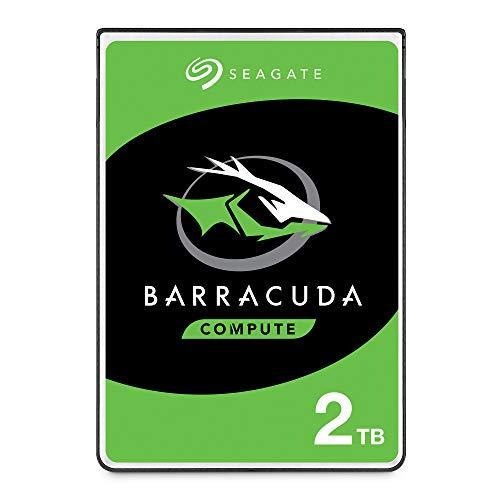 Seagate ST2000LM015 Barracuda 2TB, 6,4 cm (2,5 pollici), Hard Disk, 7 mm, 128 MB di cache, SATA 6...