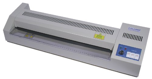 Laminiergerät DIN A2 - LM460 Metall, Laminator mit stufenloser Temperaturwahl