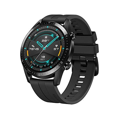 Huawei Watch GT 2(46mm), 2 Weeks Battery Life, Bluetooth Calling, Sport Edition (Black)