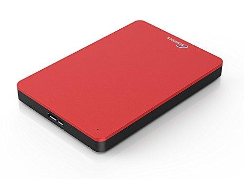 Sonnics 1TB Rosso hard disk esterno portatile USB 3.0 Super velocità di trasferimento per uso con...
