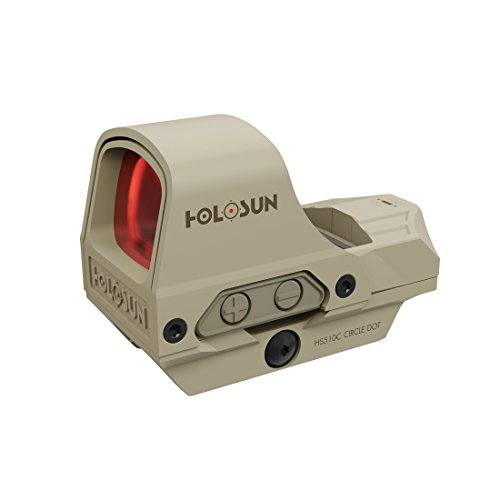 Picotronic Holosun Open Reflex Red Dot Sight HS510C-FDE with switchable reticle - 78003507