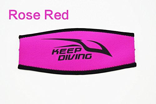 FidgetGear Slap Straps Mask Head Strap Cover Scuba Diving Mask Padded Protect Long Hair Band Strap-Wrapper for Scuba or Snorkel Mask